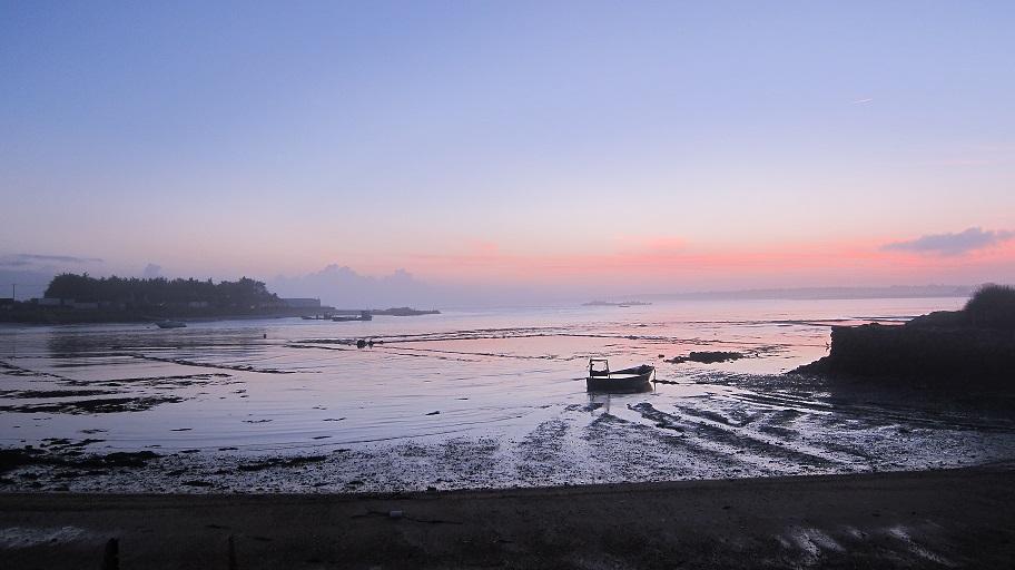 Marée basse au Pô