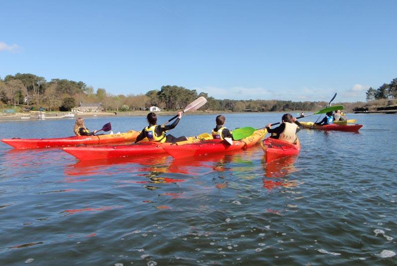 Carnac en Kayak