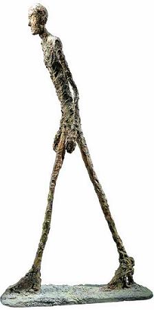 Homme qui Marche I, Giacometti 1960 - Bronze
