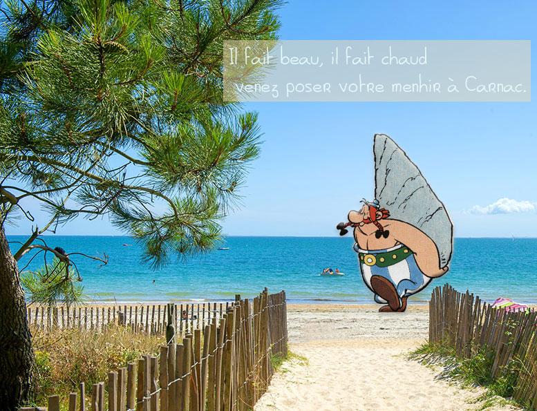 carnac plage gite bord de mer avec plage