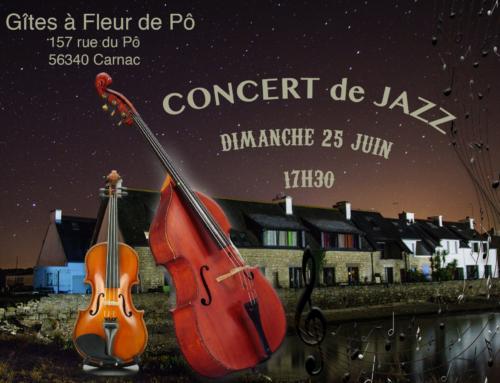 Concert de jazz à Carnac