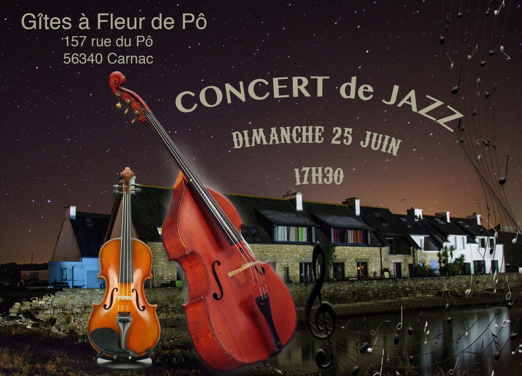 concert gites carnac 56